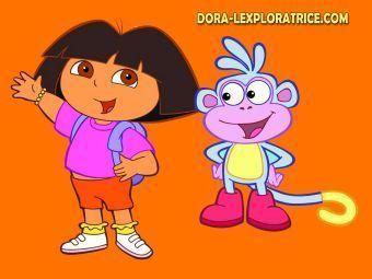 Dora et babouche - Dessin de dora et babouche ...